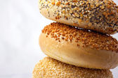 Bagel Stack — Stock Photo