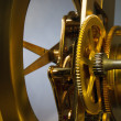 Stock Photo: Golden Clockworks