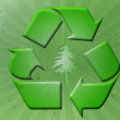 Grungy Recycle Background — Stock Photo
