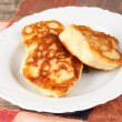 Delicious homemade pancakes - Stock Photo
