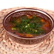 Stock Photo: Traditional soup kharcho