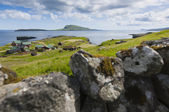 Scenic view of Nolsoy, Faroe Islands — Stockfoto