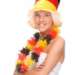 German soccer fan — Stock Photo #9219861