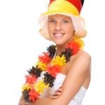 German soccer fan — Stock Photo #9219861