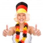 German soccer fan — Stock Photo #9219866