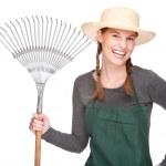 Female gardener — Stock Photo