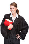 Female lawyer — Stock Photo