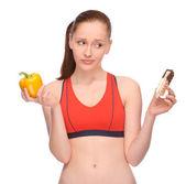 Mangiare sano? — Foto Stock