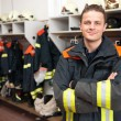 Firefighter — Stock Photo #9304365