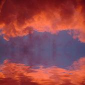 Solnedgång — Stockfoto
