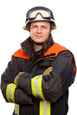 Firefighter — Stock Photo