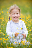 Smiling young girl — Stock Photo