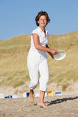 Active at the beach — Stock Photo