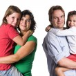 Royalty-Free Stock Photo: Just a happy family.