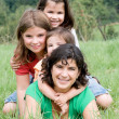 Mother with daughters — Stock Photo #9710628