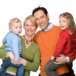 Happy family — Stock Photo #9710804
