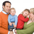 Happy family — Stock Photo #9710808