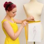 Dressmaker — Stock Photo #9832379