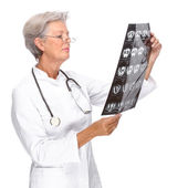 Senior doctor — Stock Photo