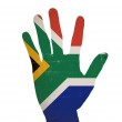 South africa flag — Stock Photo #10562514