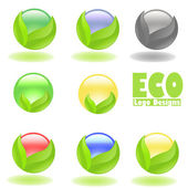 Creative eco — Stock Photo