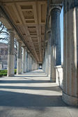 Berlin - museum island - old national gallery — Stock Photo