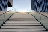 Stairs in the medium port Duesseldorf — Stock Photo