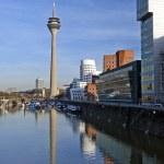 Medium Port Duesseldorf — Stock Photo