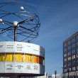 Stock Photo: Berlin - Alexanderplatz - World time clock