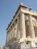 El partenón en la acrópolis, atenas, grecia — Foto de Stock