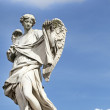 Angel statue on Ponte Sant&amp;#039;Angelo - Stock Photo