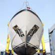 Luxury shipbuilding, ship repair - Stok fotoğraf