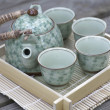 Chinese Tea Set - Stock Photo