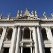 San Giovanni Laterano Facade - Stock Photo