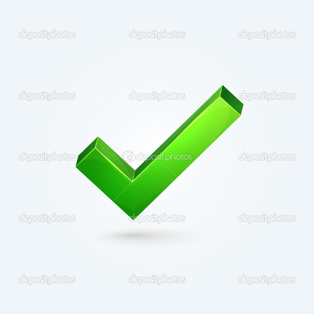 Images Green Check Mark Illustration of Green Check