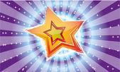 Magic star — Stock Vector