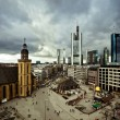 Frankfurt city downtown skyline — Stock Photo #9133200