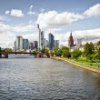 Frankfurt cityscape — Stock Photo #9133274