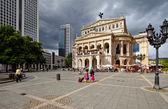 Старая опера во Франкфурте — Стоковое фото