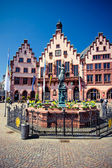 Old Frankfurt Roemer place — Stock Photo