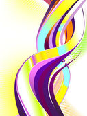 Abstract Colorful Swirl — Stock Vector
