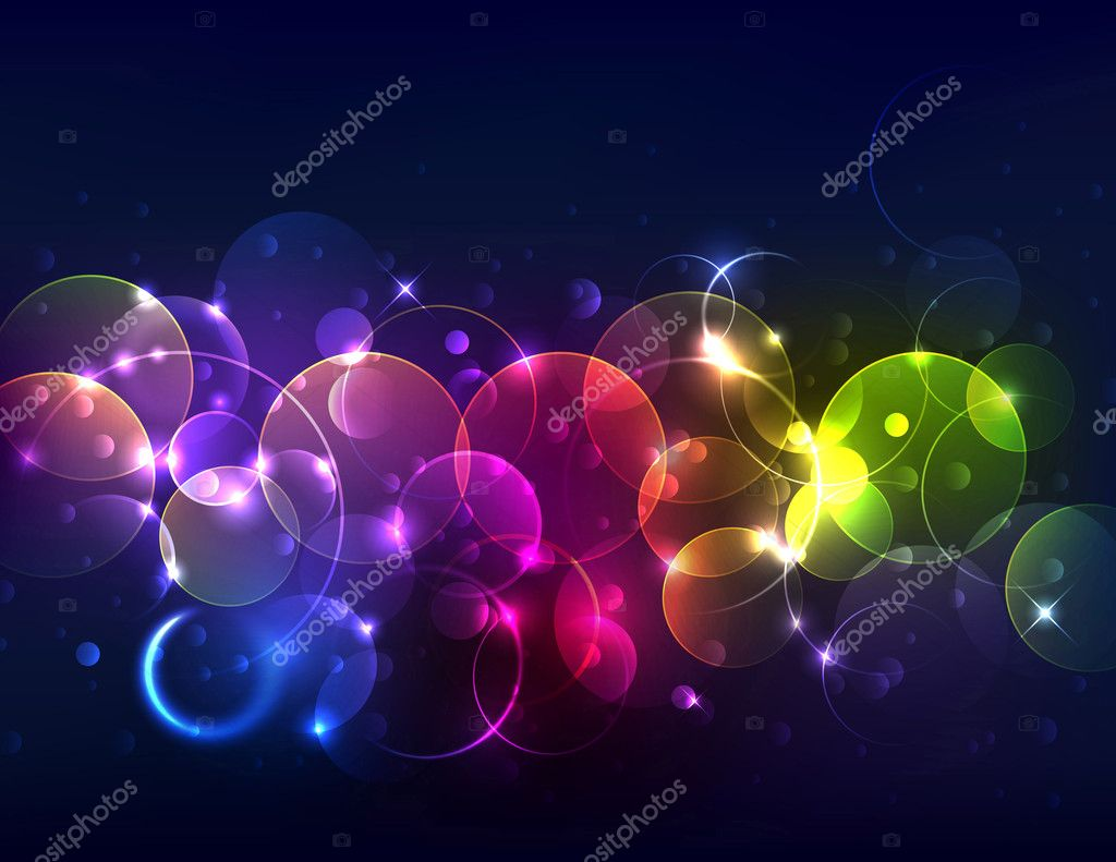 Sparkly Blurred Abstract Background. Eps 10 transparencies used on other than normal mode. Gradient mesh used. — Stock Vector #9118673