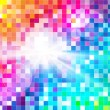 Abstract Spectrum Mosaic - Stock Vector
