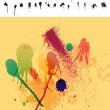 Clean Detailed Set of 30 Paint Drips & Spatter - Stock Vector