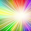 Spectrum Light Burst - Stock Vector