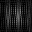 Stock Vector: Closeup speaker grille texture