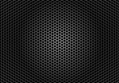 Closeup speaker grille texture — Stock Vector