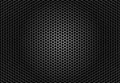 Closeup speaker grille texture — Stock Vector
