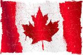 Canada grunge flag — Stock Vector