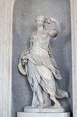 Statue from Venaria Royal, Piedmont. Italy — Stock Photo